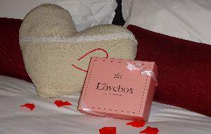 lovebox lit rond gite romantique gite pour amoureux