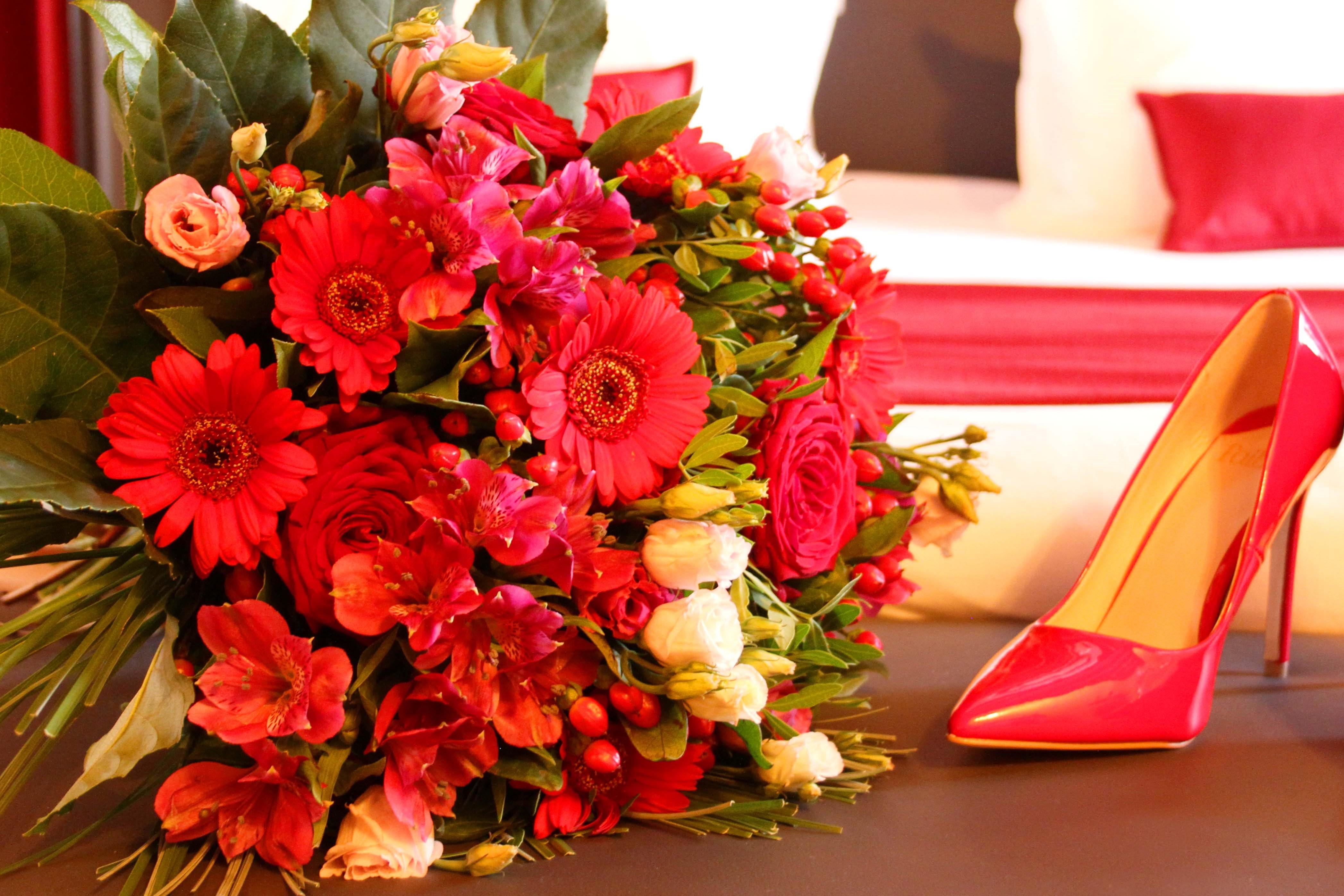fleurs et roses gite romantique